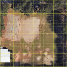 aerial image with an overlay